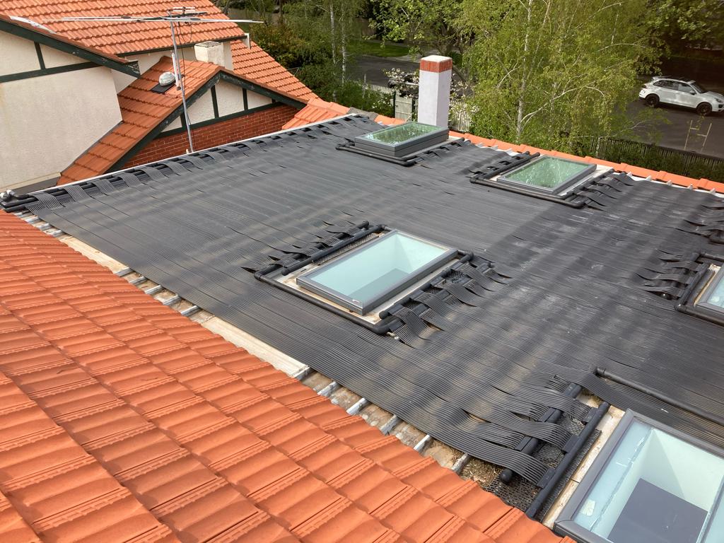 Strip Solar Pool Heating